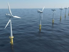 offshore wind turbines farm